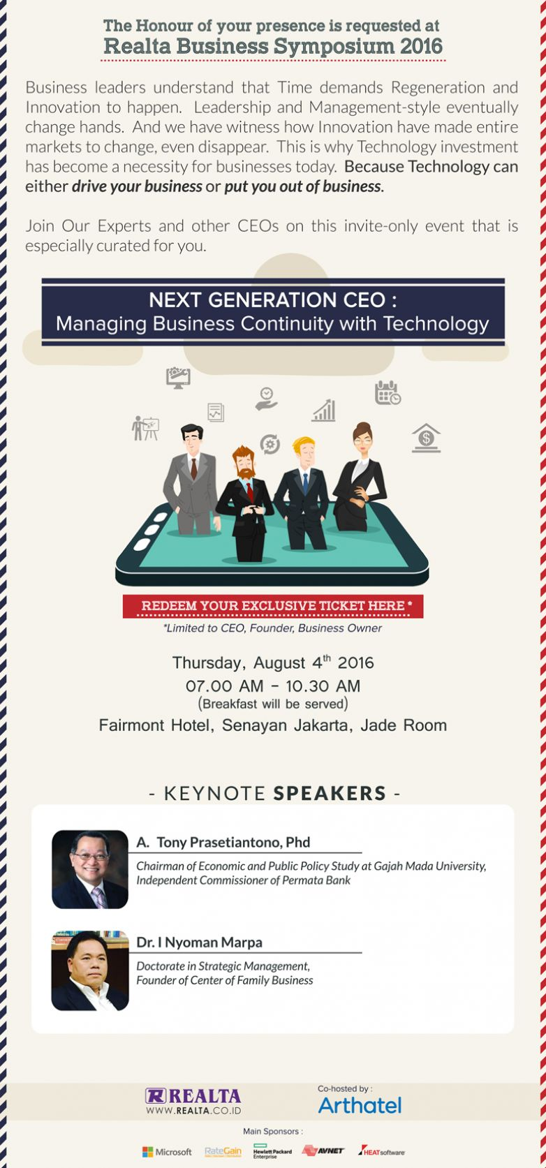 Realta Presents Realta Business Symposium 2016
