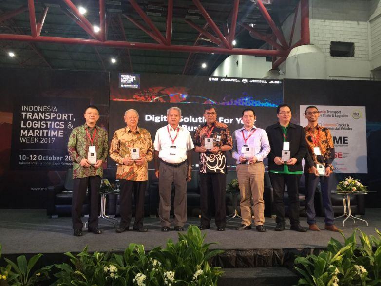 Realta Chakradarma dalam Indonesia Transport Logistics & Maritime Week